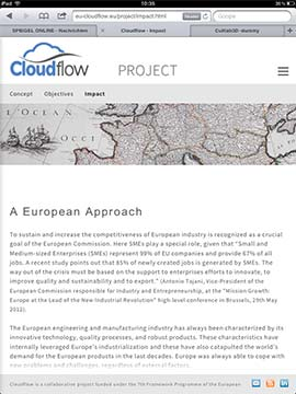 CloudFlow Tablett