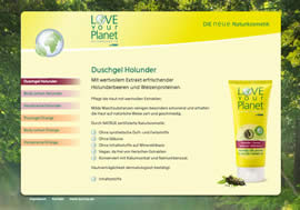 Love your Planet Duschgel Holunder