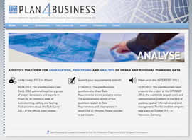 Webauftritt plan4business